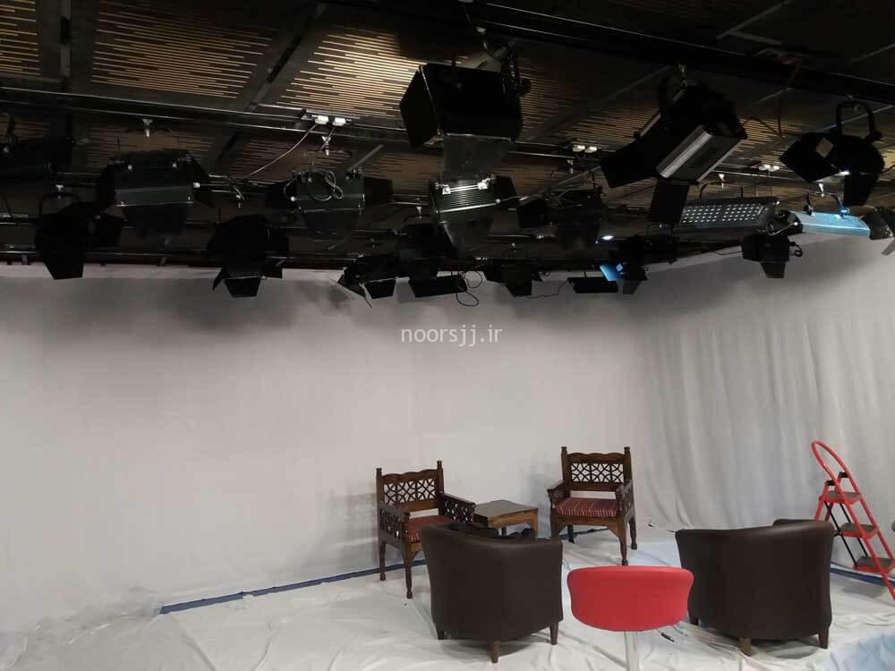 اجرای نورهای استودیو شبکه کربلا